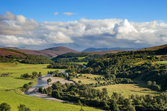 Everything was exactly the way that it seems (OR_U) Tags: 2017 oru uk scotland cairngorms tomintoul landscape highlands river glenlivet riveravon avon green clouds cloudscape autumn fall bobdylan