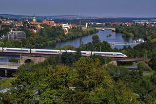 Der ICE nach Würzburg