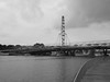 Helix Bridge at Marina Bay (procrast8) Tags: singapore helix bridge marina bay flyer ferris wheel