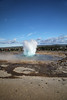 Out Of The Blue Bubble (wyojones) Tags: iceland strokkur geyser eruptsion geysirhydrothermalfield haukadalur valley southwesticeland geyserbasin rhyoliticdome laugarfjall hverasandar geysir fountaingeyser pool hotsprings interval duration eruptiveheight thechurn wyojones