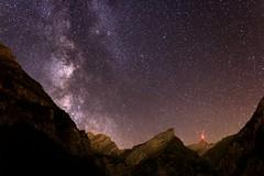 Milky Way over Seealpsee (eichlera) Tags: night sky milkyway galaxy stars seealpsee mountains säntis swissalps switzerland