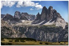 "Drei Zinnen (""Deca"") Tags: dolomiti dolomites altoadige trecimedilavaredo dreizinnen valledibraies valdilandro montagna mountain montespecie agosto august estate summer panorami landscapes"