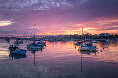 Mayflower Marina (Rich Walker75) Tags: plymouth plymouthwaterfront marina sunset landscape landscapes landscapephotography water harbour cloud clouds colour color boat boats uk england eos100d efs1585mmisusm eos canon