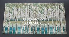 Bộ gạch ốp rừng bạch dương 30x60cm