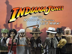 Custom Lego Indiana Jones Raiders of the Lost Ark: Minifigures (Will HR) Tags: lego indiana jones raiders lost ark