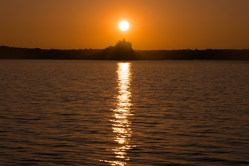 Sunrise Over St Michael's Mount