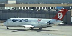DC-9 | TC-JAG | FRA | 19910914 (Wally.H) Tags: mcdonnell douglas dc9 tcjag turkishairlines thy türkhavayollari fra eddf frankfurtmain airport