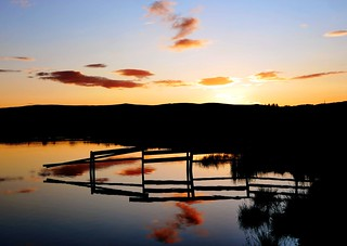 Sunset at Knapps Loch