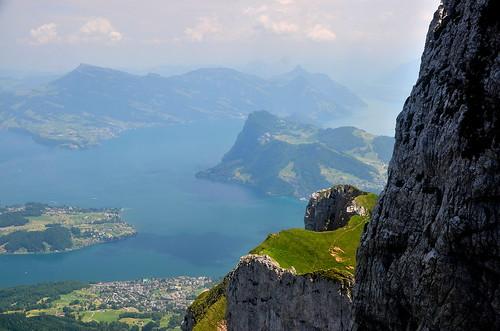 Lake Luzern from Mt. Pilatus