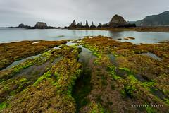 Asturias. Días grises (Lourdes Santos Bajo) Tags: gueirúa gris asturias spain sea water rocas acantilados rocks playa beach