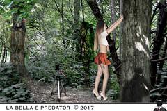 LA BELLA E PREDATOR (ADRIANO ART FOR PASSION) Tags: fantascienza predator fotografo modella bosco selenex caccia fotografia fotomontaggio photoshop siencefiction wood invisibile adrianoartforpassion forest parcolamandria parco mandria venaria venariareale provinciaditorino photoshopcreativo