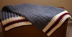 Lumberjack Crochet Blanket (GATACA1952) Tags: crochet yarn texture craft handmade fibres bernat acrylic blanket throw houseware lumberjack chunky
