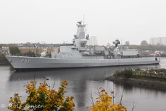 Louise Marie (rjonsen) Tags: boat vessel military clyde river sailing water war ship exercise grey