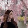 Bleema (BeccaBauman) Tags: nj njphotographer portrait pinkflowers nikon beautiful bokeh pink woman bleemashairandmakeup outdoors naturallight passaicnj color springtime 85mm18