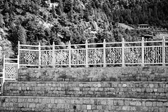 fenced (RobertsNL) Tags: 7daysofshooting week15 barrier blackandwhitewednesday