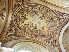 Look Up (Hollie_Lea95) Tags: ceilling roof lourve paris france europe ancient old carving sculpture lookup intricate