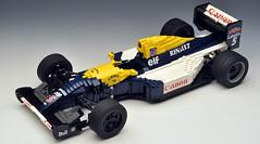 WilliamsFW14B_01 (RoscoPC) Tags: nigel mansell adrian newey f1 active suspension v10 renault 1992 williams fw14b working suspensions steering lego moc
