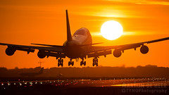 PH-MPS (tynophotography) Tags: ams eham schiphol amsterdam airport sunrise martinair cargo 747f 747 747400f phmps boeing