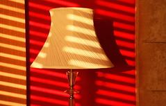 Lamp Light (acwills2014) Tags: blocking shapes diagonals lamp shadows lamplight venetian venetianblinds patterns