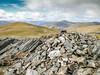 The summit cairn on Meall na Aighean (David McSporran) Tags: carngorm meallgarbh carnmairg meallnaaighean glenlyon northchesthillestate munro munros scottishhighlands scotland scottishmountains hillwalking