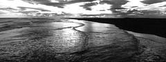 Iceland, xpan (Fabio Stoll) Tags: analog black white fomapan action 400 self developed ishootfilm filmisnotdeat einfarbig hasselblad xpan ii outdoor camping landschaft abhang feld fotorahmen breitformat iceland geisir drive roadtrip nature moody fomatol lqn wasser haifoss foss glacier gras felsen plane coast meer ozean himmel strand welle küste
