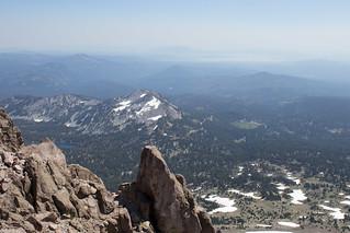 View East, Lassen Peak
