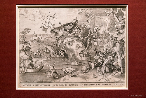 Pieter Bruegel: Die Versuchung des heiligen Antonius / The Temptation of Saint Anthony, 1556
