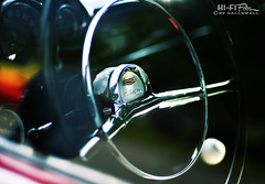 Grab The 210 By The Wheel (Hi-Fi Fotos) Tags: chevy chevrolet twoten 210 steeringwheel interior 1950s gm bowtie chrome cockpit vintage american classiccar detail nikkor 50mm 14 nikon d7200 dx hififotos hallewell