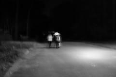Trick Or Treat no.2 (SopheNic (DavidSenaPhoto)) Tags: fujinon35mmf14 impressionisticphotograph xt2 monochrome intentionalcameramovement blackandwhite bw halloween imc acros fujifilm impressionism mono