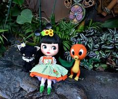 Minnie and the Orange Bird