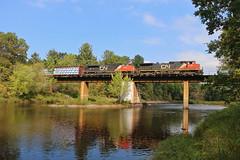 Sheldon, Wisconsin (UW1983) Tags: trains railroads canadiannational cn superiorsubdivision sheldon wisconsin jumpriver