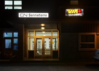VIA Rail Station @ Senneterre, QC
