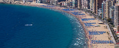 Benidorm. 2017. September. (CWhatPhotos) Tags: cwhatphotos people many beach sand water blue sea olympus four thirds 43 omd em10 ii digital camera photographs photograph pics pictures pic picture image images foto fotos photography artistic that have which with contain artistc benidorm seaside resort spain costa blanca spanish fun hol holiday september 2017