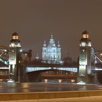 Emperor Peter the Great Bridge (Bolsheokhtinsky Bridge)