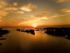 Sinking Sun (dayonkaede) Tags: olympus em1markii m1240mm f28