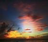 The science of beauty (Robyn Hooz) Tags: cuba varadero sunset tramonto bellezza mare caraibi nuvole cloud polarizzatore wideangle grandangolo streams luce