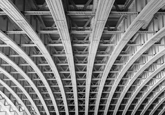 IMG_2846 (creativerios) Tags: england london architect city bridge construction blackandwhite texture outdoor daytime monochrome