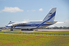 Volga Dnepr Antonov An-124 (Infinity & Beyond Photography) Tags: volga dnepr airlines antonov an124 heavylift cargo freighter russian airliner fema puertorico relief flight fll ft fort lauderdale