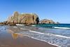 Reflejos en la playa de la Arnia (allabar8769) Tags: agua cantabria liencres mar paisaje playa playadelaarnia reflejos rocas