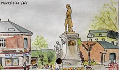 La France des sous-préfectures 80 (chando*) Tags: aquarelle watercolor croquis sketch france