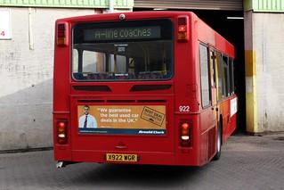 A-Line Coaches: X922 WGR
