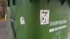 Halifax Stickers (Fred:) Tags: stickers sticker bombing halifax labels label novascotia stickerart autocollant collants autocollants recycle bin bins nova scotia graffiti fish king couronne crown dead fishbone fantôme ghost cartoon comics dessin drawing illustration