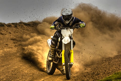 Spun Out (Andy Tee) Tags: motocross motorbike motorcycle dirt bike racing off road hdr