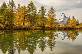 Lago Grindjisee, Monte Cervino