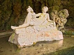 Nymph a Les Sources de la Seine (cb|dg photo) Tags: sourcesdelaseine riverseine nymph statute france grotto river headwaters