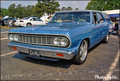'64 Chevy Chevelle Wagon (Photos By Vic) Tags: 1964 64 classic car carshow chevy chevrolet chevelle wagon stationwagon old antique automobile vehicle vintage 2017goodguys3rdnorthcarolinanationals