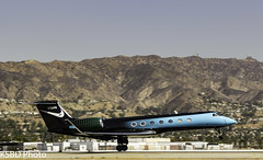 N3546 G550 (KSBD Photo) Tags: burbank california unitedstates us n3546 g550 gulfstream glf5 gulfstreamfan gulfstreamforever fanfriday hollywoodburbankairport