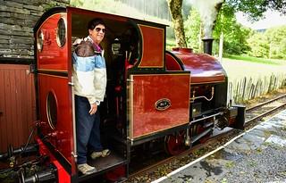 Corris Railway #7, Maespoeth Depot