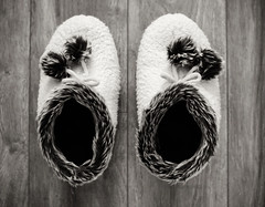 Warm and practical (Cheryl Wiens) Tags: 52in2017challenge50 favourite winteriscoming slippers