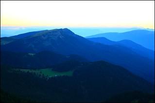Sur les hauteurs du Val di Funes, massif des Dolomites (Trentin-Haut-Adige, Sud Tyrol, Italie)